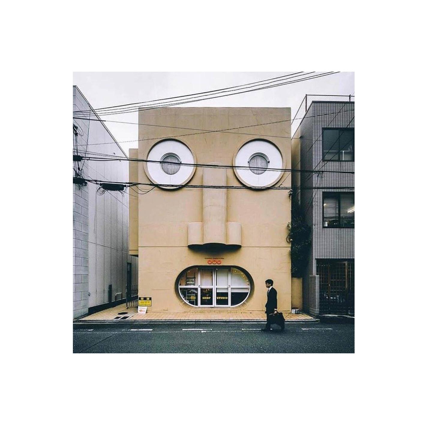 Kazumasa Yamashita, Face House in Kyoto, Japan (1974)